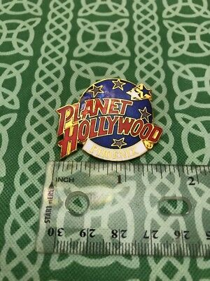 Vintage 1990's Planet Hollywood Phoenix PHI  Pin Brooch FREE SHIPPING