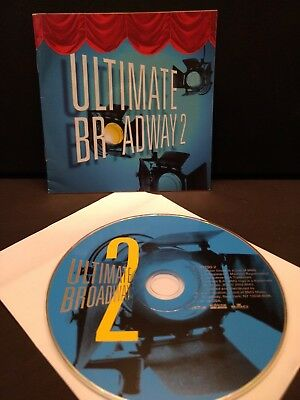 Ultimate Broadway Vol 2 (2003) Cd