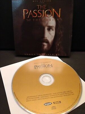 The Passion Of The Christ Songs Inspired By The Passion Of The Christ (2004) Cd