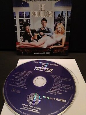 The Producers Original Motion Picture Soundtrack (2005) Cd