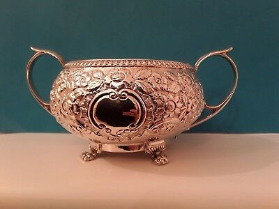Scarce George 111 Irish Two Handled Sugar Bowl  1818