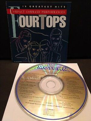 Four Tops Compact Command Performances 19 Greatest Hits (1984) Cd