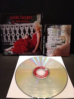 Cyndi Lauper The Body Acoustic (2005) Cd/dvd
