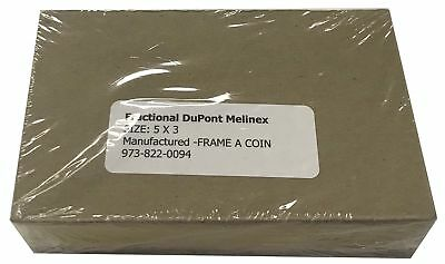 Top Premium Quality Currency Sleeve DuPont Mylar Banknote Holders Fractional 5x3