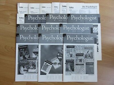 The Psychologist Magazine Indexes x 16 , Vol 5 (1992) - Vol 20 (2007)