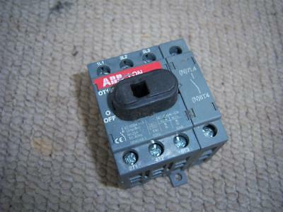 Abb Ot16F4N2 4 Pole Panel Isolator Switch 16A 3 Phase + Neutral  Free Uk Post