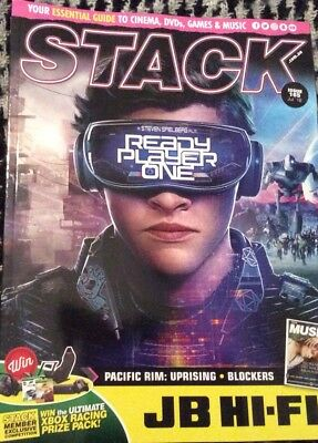 Stack Magazine Ready Player One, Florence And The Machine, Forza Horizon 4