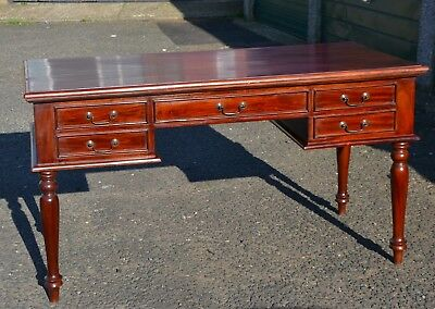 Vintage Mahogany partners desk large solid wood Reduced for a quick sale!