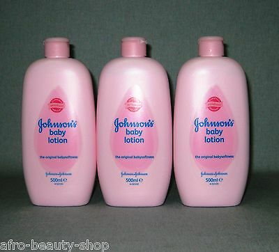 3 x JOHNSON`s - Baby Lotion - Baby-Softness - 1.500 ml