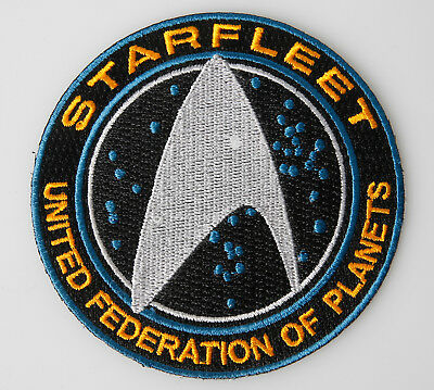 Star Trek Patch United Federation of Planets 8,7cm