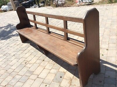 Church pew - Reclaimed Bench Victorian