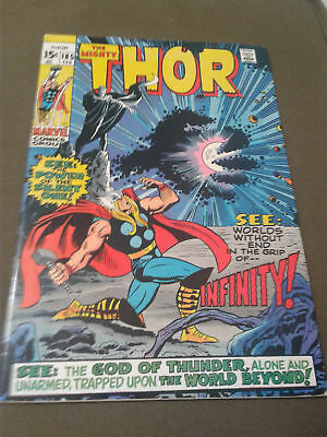 Thor #185, FN+ 6.5, 1st Appearance Infinity