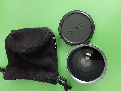 Sony VCL-0630X 30mm 0.6x Wide Angle Lens, Made in Japan Very good condition