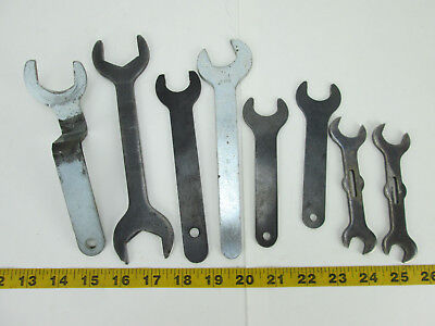 8 Assorted Router Bit Wrenches Replacement Wood Working Parts Free Shipping T
