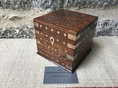 A Stunning Anglo Indian Tea Caddy from Mainpuri