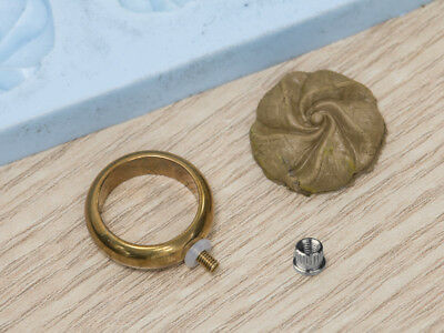 Prometheus Interchangeable Rings for Metal Clay, Fimo Polymer Clay Ring Designs