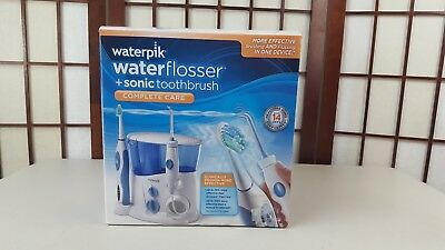 Waterpik WP-900 Complete Care Ultra Water Flosser  Sonic Toothbrush. OPEN BOX