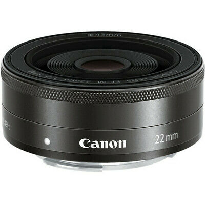 Canon EF-M 22mm f/2 STM Lens For EOS M Mirrorless Camera!! BRAND NEW!!