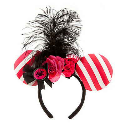 Disney Parks Minnie Mouse Ear Headband Pirates of the Caribbean Pirate Ears