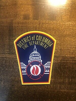 DCFD Helmet Sticker