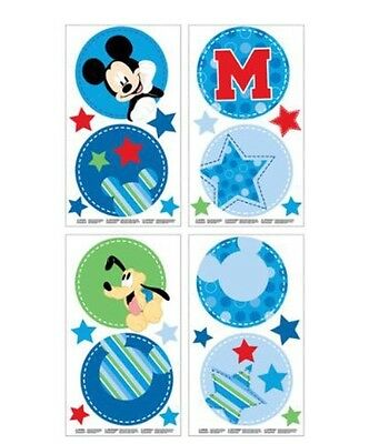 New Disney Mickey Mouse Wall Decals: Nursery Wall Decor