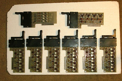 Complete Vintage Set Of 8 Decade Display  Circuit Boards From Hp 5245 Counter.