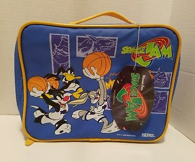 Warner Bros Space Jam Monstars Lunch Bag Vintage 1996 Insulated New