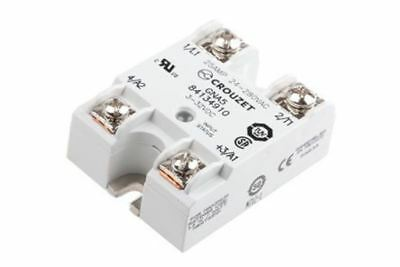 Crouzet 25 A Solid State Relay, Random, Panel Mount Triac, 280 V Maximum Load