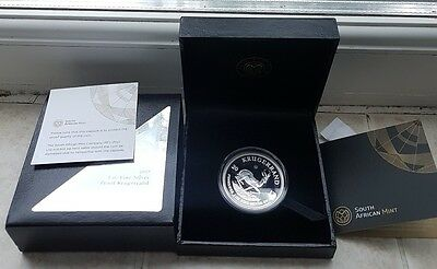 2017 SILVER PROOF SOUTH AFRICAN SPECIAL KRUGERRAND 50th ANNIVERSARY 1oz  COIN