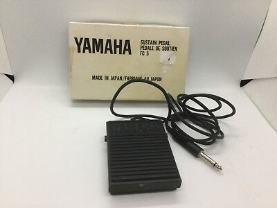 Yamaha FC5 Sustain Pedal for keyboards with original box