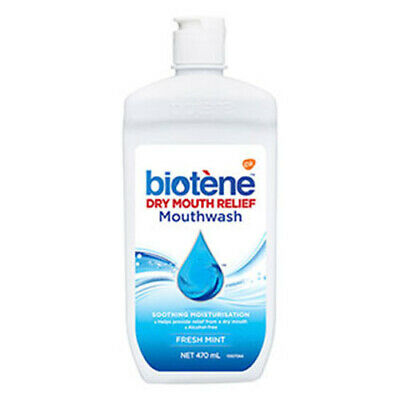 NEW Biotene Mouthwash Dry Mouth Relief  470ml