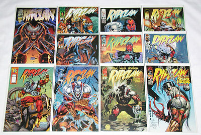 Ripclaw Vol.1 #1-3 / Vol.2 #1-6 / Wizard #1/2 / Special One-Shot (Lot of 11)