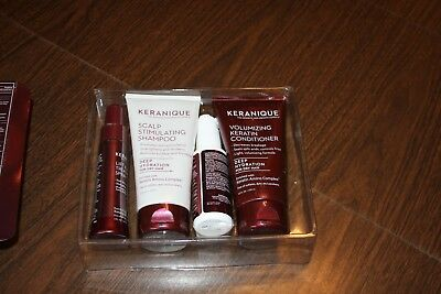 Keranique Women's Hair Deluxe Regrowth Treatment Hydration Kit Partially Used