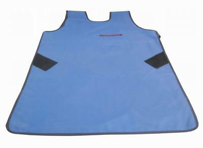 0.35mmpb New Type Dental X-Ray Protective Lead Vest Apron Blue FA07 Middle Blue