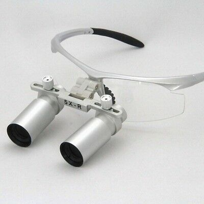 5.0X Dental Lab Loupe Glasse Microsurgery Magnifier Medical Loupes Binocular
