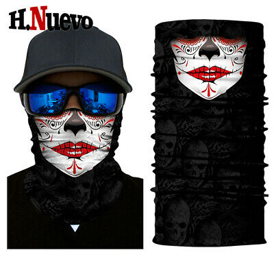 Clown Joker Cycling Neck Face Mask Scarf Balaclava Halloween Snowboard Bandana