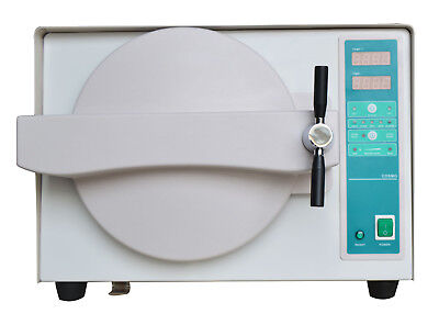 18L Dental Automatic Autoclave Steam Sterilizer Science Chamber Equipment UK FDA
