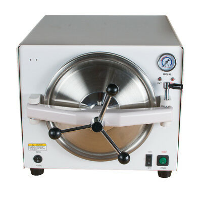 18L Medical Steam Sterilizer Dental Lab Sterilizer Equipment 304 Stainless Steel