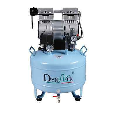 30L Dental Oilless Air Compressor Noiseless 750W 1-Driving-2 Stable CE FDA
