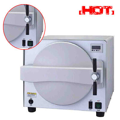 Dental Steam Autoclave Sterilizer 18L Medical Lab Sterilizer Equipment Safety CE
