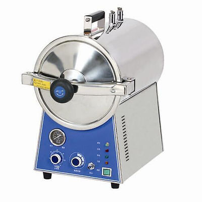 24L Medical Autoclave Sterilizer Stainless Steel Hightemperature Steam Steriliza