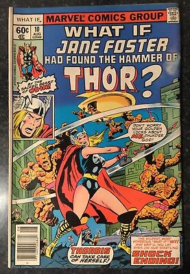 What If #10 What If Jane Foster Had Found The Hammer of Thor? (Aug 1978, Marvel)
