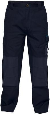 New Prime Mover APATCHI Workwear Pants Navy Sizes: 79L 87 102 127 132 FREE POST