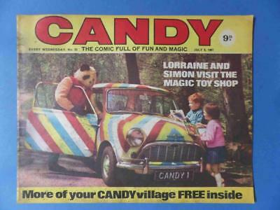 Candy 25 1967 Gerry Anderson Very Rare! Nice!