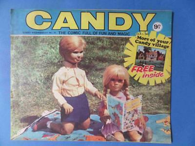 Candy 24 1967 Gerry Anderson Very Rare! Nice! Free Gift!!