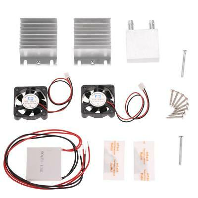 New DIY Thermoelectric Peltier Refrigeration Cooling System Cooler Module Q3S6
