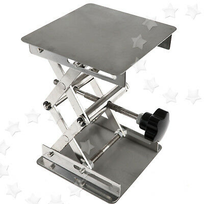 10 X 10 CM Heavy Duty Steel Lift Countertop Lifting Platform Jack Lab Laboratory