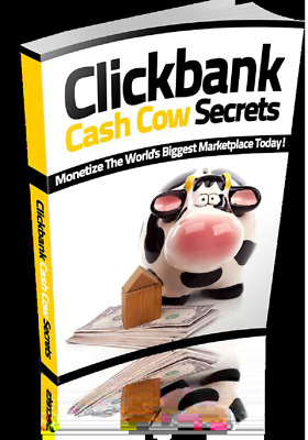 Clickbank Cash Cow Secrets PDF eBook in a Package with Master Resell Rights