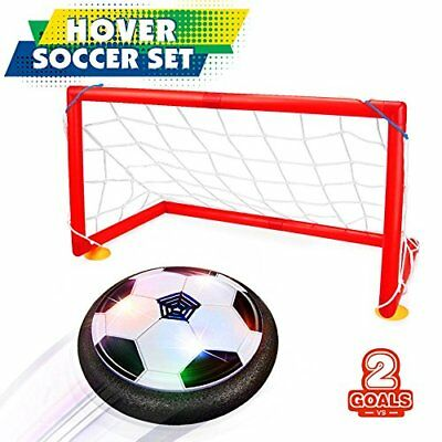Hover Soccer Ball Set with 2 Goals Toy