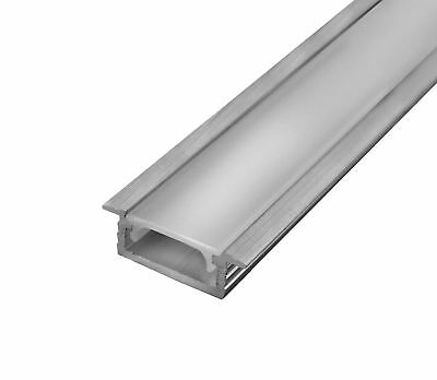 Aluminum profile for flexible LED strip 2m